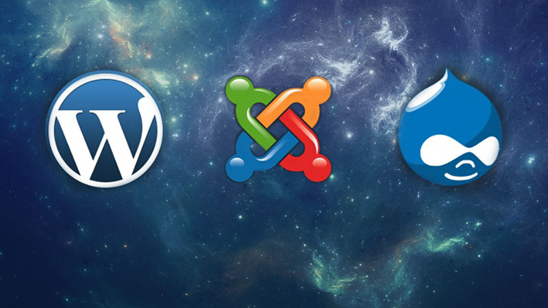 What is the best CMS? WordPress, Joomla, or Drupal?